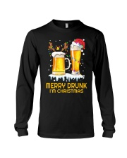 Merry Drunk Long Sleeve Tee thumbnail