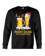 Merry Drunk Crewneck Sweatshirt thumbnail