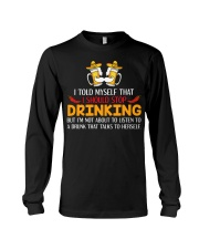 A Drunk Talks To Herself Long Sleeve Tee thumbnail