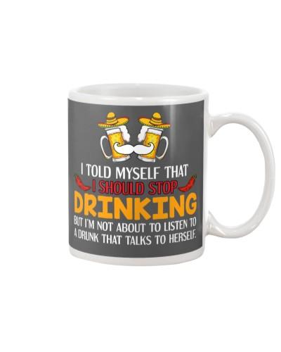 A Drunk Talks To Herself