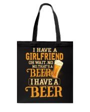 I Have A Beer Tote Bag thumbnail