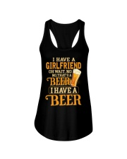 I Have A Beer Ladies Flowy Tank thumbnail