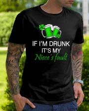 My Niece Fault Classic T-Shirt lifestyle-mens-crewneck-front-7