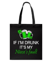 My Niece Fault Tote Bag thumbnail