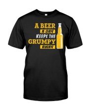 Keeps The Grumpy Away Classic T-Shirt front