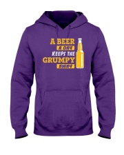 Keeps The Grumpy Away Hooded Sweatshirt thumbnail