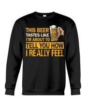 How I Really Feel Crewneck Sweatshirt thumbnail