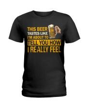 How I Really Feel Ladies T-Shirt thumbnail