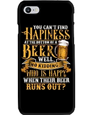 Beer Runs Out Phone Case thumbnail
