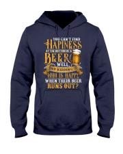 Beer Runs Out Hooded Sweatshirt thumbnail