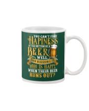 Beer Runs Out Mug thumbnail