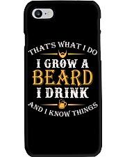 I Grow A Beard I Drink Phone Case thumbnail