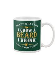 I Grow A Beard I Drink Mug thumbnail