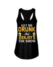 Get Me Drunk Ladies Flowy Tank thumbnail