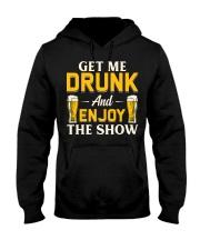Get Me Drunk Hooded Sweatshirt front