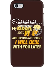 Deal With You Later Phone Case thumbnail