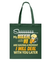 Deal With You Later Tote Bag thumbnail
