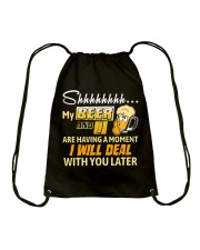 Deal With You Later Drawstring Bag thumbnail
