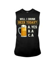 Drink Beer Today Sleeveless Tee thumbnail