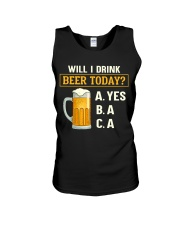 Drink Beer Today Unisex Tank thumbnail