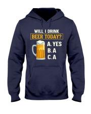 Drink Beer Today Hooded Sweatshirt thumbnail