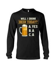 Drink Beer Today Long Sleeve Tee thumbnail
