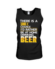 Be At Home Unisex Tank thumbnail