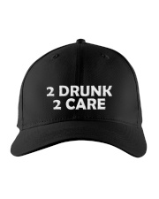2 Drunk 2 Care Embroidered Hat front
