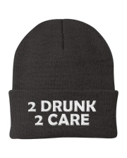 2 Drunk 2 Care Knit Beanie tile
