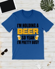 Im Holding A Beer Classic T-Shirt lifestyle-mens-crewneck-front-17