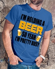 Im Holding A Beer Classic T-Shirt lifestyle-mens-crewneck-front-4