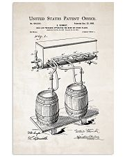 Beer Patent 11x17 Poster front