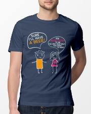 I'll Have A Beer Classic T-Shirt lifestyle-mens-crewneck-front-13