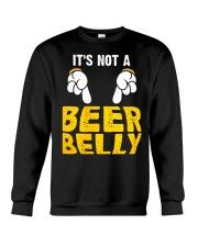 Not A Beer Belly Crewneck Sweatshirt thumbnail