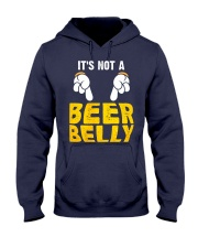 Not A Beer Belly Hooded Sweatshirt thumbnail