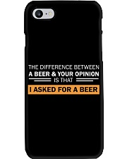 Ask For A Beer Phone Case thumbnail