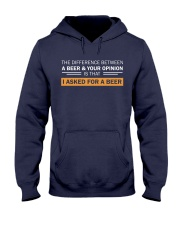 Ask For A Beer Hooded Sweatshirt thumbnail