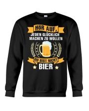 Du Bist Nicht Bier Crewneck Sweatshirt thumbnail