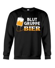 Blut Gruppe Bier Crewneck Sweatshirt thumbnail