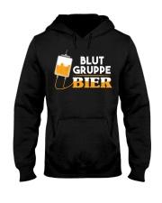Blut Gruppe Bier Hooded Sweatshirt thumbnail