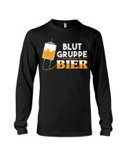 Blut Gruppe Bier Long Sleeve Tee thumbnail