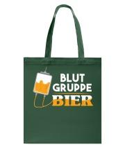 Blut Gruppe Bier Tote Bag thumbnail
