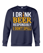 In OutI Dont Spill Crewneck Sweatshirt front