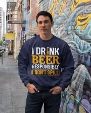In OutI Dont Spill Crewneck Sweatshirt lifestyle-unisex-sweatshirt-front-2