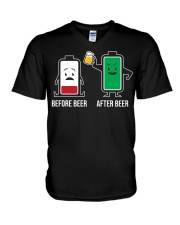 After Beer V-Neck T-Shirt thumbnail