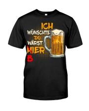 Ich Wunschte Classic T-Shirt front
