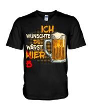 Ich Wunschte V-Neck T-Shirt thumbnail