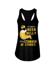 Stomach Of Stories Ladies Flowy Tank thumbnail