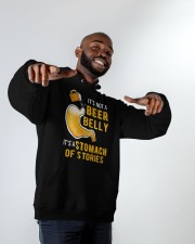 Stomach Of Stories Hooded Sweatshirt apparel-hooded-sweatshirt-lifestyle-front-12