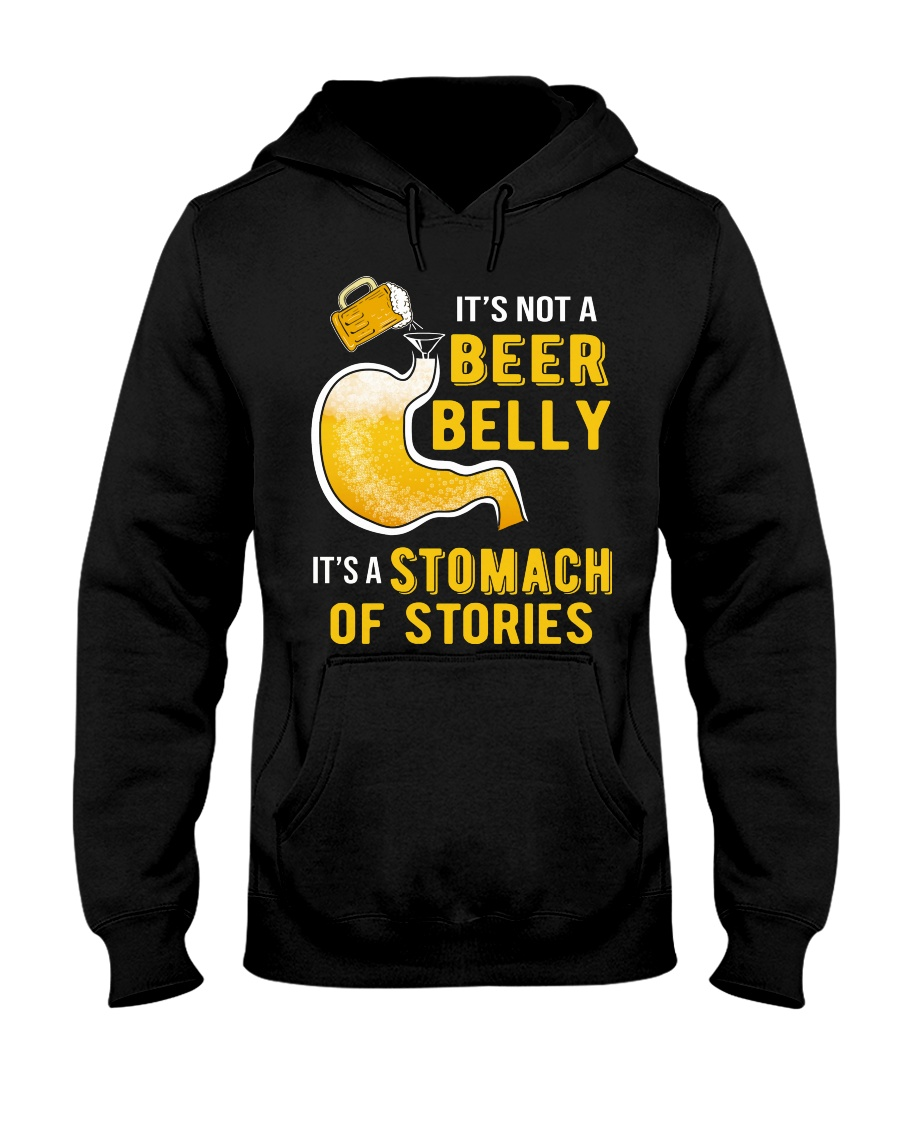 Stomach Of Stories Hooded Sweatshirt
